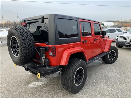 2017 Jeep Wrangler Unlimited Sahara (Stk: C3695) in Concord - Image 2 of 5