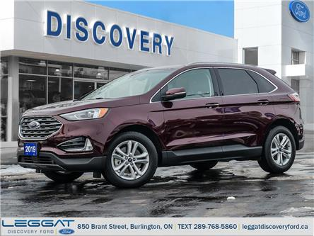 2019 Ford Edge SEL (Stk: 19-66430-B) in Burlington - Image 1 of 26