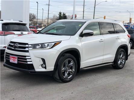 2018 Toyota Highlander Limited (Stk: W4956) in Cobourg - Image 1 of 28