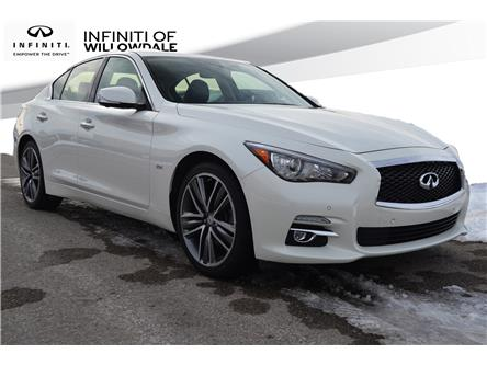 2016 Infiniti Q50 3.0T (Stk: U16651) in Thornhill - Image 1 of 27