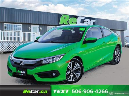 2016 Honda Civic EX (Stk: 200082A) in Saint John - Image 1 of 23