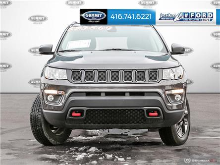 2017 Jeep Compass Trailhawk (Stk: 19T5803A) in Toronto - Image 2 of 27