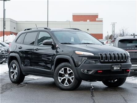 2014 Jeep Cherokee Trailhawk (Stk: A0H977) in Hamilton - Image 1 of 27