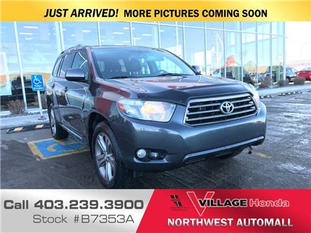 2010 Toyota Highlander  (Stk: B7353A) in Calgary - Image 1 of 3