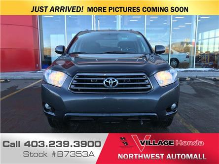 2010 Toyota Highlander  (Stk: B7353A) in Calgary - Image 2 of 3
