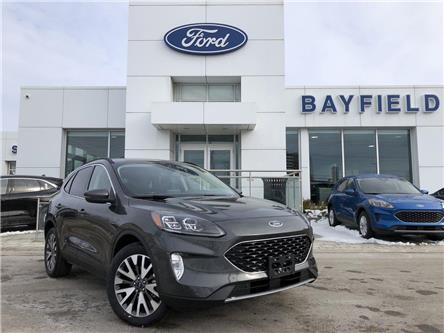 2020 Ford Escape Titanium Hybrid (Stk: ES20196) in Barrie - Image 1 of 15