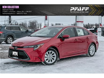 2020 Toyota Corolla 4-door Sedan XLE CVT (Stk: H20054) in Orangeville - Image 1 of 21