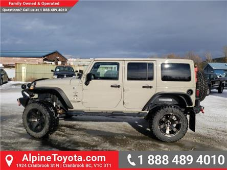 2018 Jeep Wrangler JK Unlimited Sahara (Stk: X046261P) in Cranbrook - Image 2 of 23
