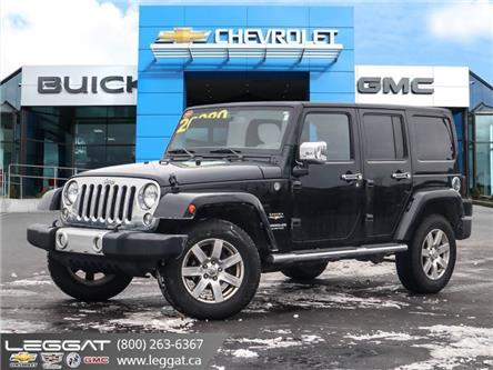 2014 Jeep Wrangler Unlimited Sahara (Stk: 208031A) in Burlington - Image 1 of 10
