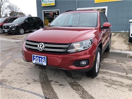 2016 Volkswagen Tiguan Special Edition (Stk: 12822) in Belmont - Image 2 of 17