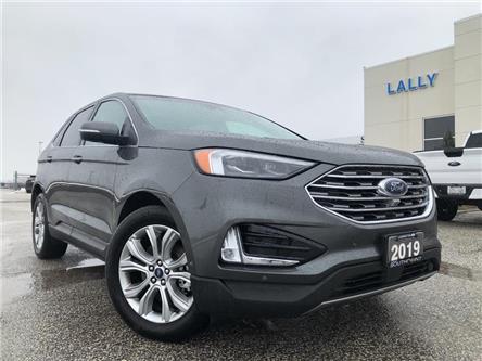 2019 Ford Edge Titanium (Stk: S10465R) in Leamington - Image 1 of 25