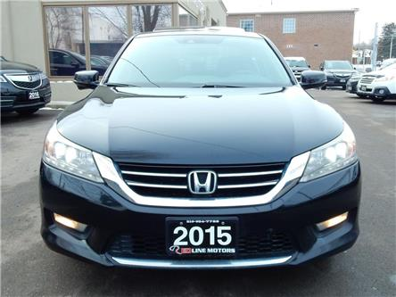 2015 Honda Accord Touring V6 (Stk: 1HGCR3) in Kitchener - Image 2 of 29
