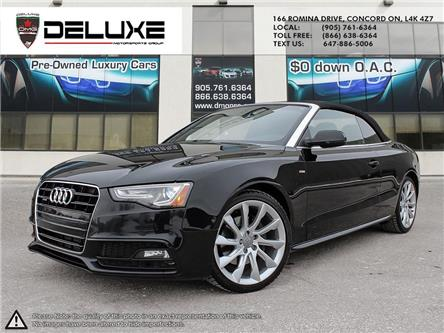 2014 Audi A5 2.0 Progressiv (Stk: D0690) in Concord - Image 1 of 14