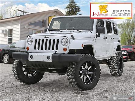 2012 Jeep Wrangler Unlimited Sahara (Stk: J2012) in Brandon - Image 1 of 27