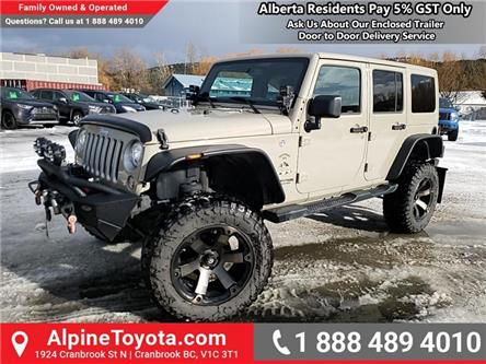 2018 Jeep Wrangler JK Unlimited Sahara (Stk: X046261P) in Cranbrook - Image 1 of 23