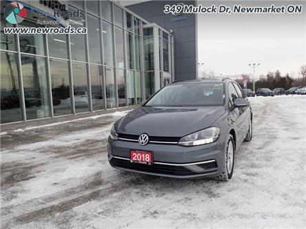 2018 Volkswagen Golf SportWagen Trendline DSG 4MOTION (Stk: 14352) in Newmarket - Image 1 of 30