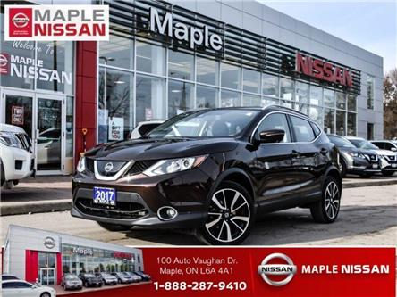 2017 Nissan Qashqai SL AWD|Navi|Leather|Around View Camera|Alloys (Stk: LM448) in Maple - Image 1 of 21