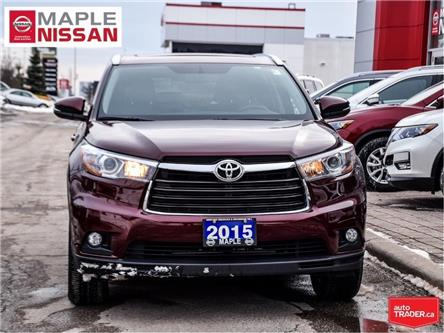 2015 Toyota Highlander AWD Limited|Remote Start|Navi|Blind Spot|Pano Roof (Stk: M20R188A) in Maple - Image 2 of 29