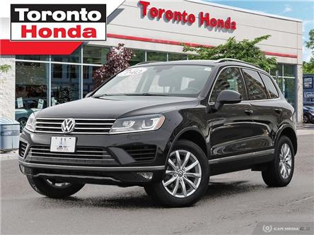 2017 Volkswagen Touareg Navi, Leather, Sunroof (Stk: H39957P) in Toronto - Image 1 of 27