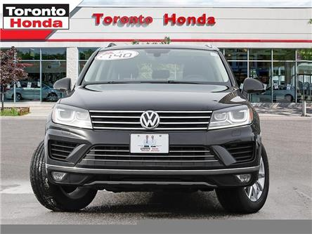 2017 Volkswagen Touareg Navi, Leather, Sunroof (Stk: H39957P) in Toronto - Image 2 of 27