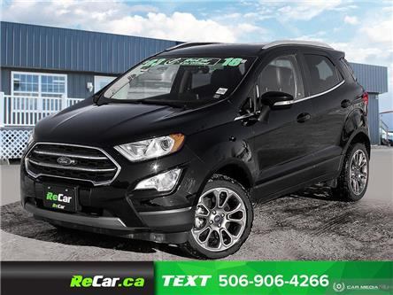 2018 Ford EcoSport Titanium (Stk: 200161A) in Fredericton - Image 1 of 22