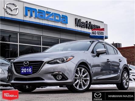 2016 Mazda Mazda3 Sport GT (Stk: N200088A) in Markham - Image 1 of 30