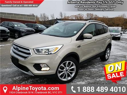 2017 Ford Escape Titanium (Stk: W050039A) in Cranbrook - Image 1 of 27