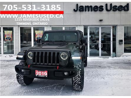 2019 Jeep Wrangler Unlimited Rubicon (Stk: N2095A) in Timmins - Image 1 of 13