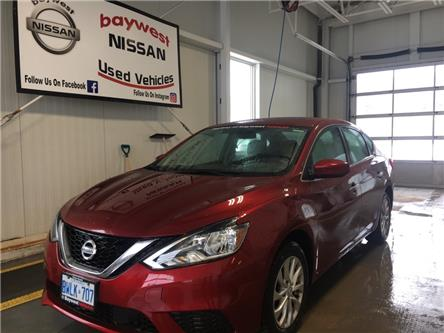 2018 Nissan Sentra 1.8 SV (Stk: P0681) in Owen Sound - Image 1 of 11