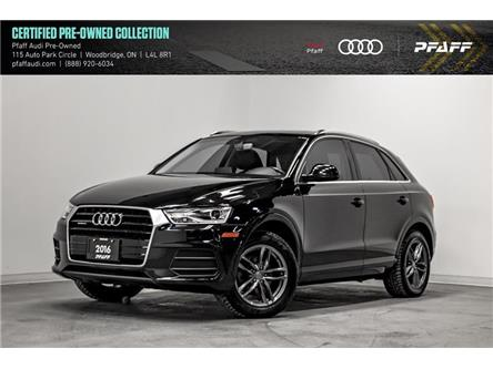 2016 Audi Q3 2.0T Progressiv (Stk: C7418) in Vaughan - Image 1 of 22