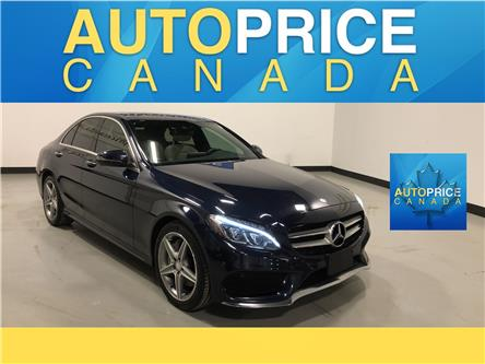 2017 Mercedes-Benz C-Class Base (Stk: W0845) in Mississauga - Image 1 of 28