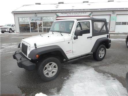 2014 Jeep Wrangler Sport (Stk: NC 3851) in Cameron - Image 1 of 9
