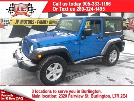 2015 Jeep Wrangler Sport (Stk: 48745) in Burlington - Image 1 of 16