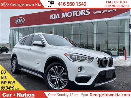 2016 BMW X1 xDrive28i | CLEAN CARFAX | NAVI | ROOF| BU CAM|B/T (Stk: P12990) in Georgetown - Image 1 of 36