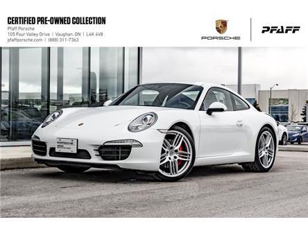 2013 Porsche 911 Carrera S Coupe (991) w/ PDK (Stk: U8362) in Vaughan - Image 1 of 21