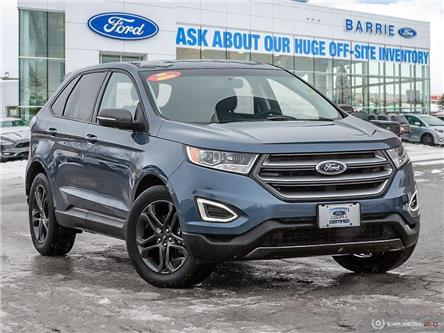 2018 Ford Edge SEL (Stk: U0001B) in Barrie - Image 1 of 27