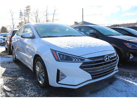 2020 Hyundai Elantra Preferred w/Sun & Safety Package (Stk: 02202) in Saint John - Image 1 of 2