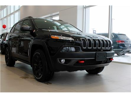 2018 Jeep Cherokee Trailhawk (Stk: V7358A) in Saskatoon - Image 1 of 7