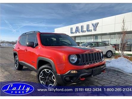 2016 Jeep Renegade Trailhawk (Stk: 25172a) in Tilbury - Image 1 of 18