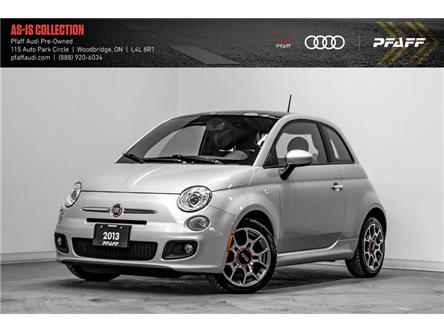 2013 Fiat 500 Sport (Stk: C7229A) in Woodbridge - Image 1 of 21