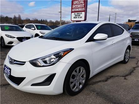 2015 Hyundai Elantra GL (Stk: 549965) in Cambridge - Image 1 of 19