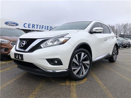 2016 Nissan Murano Platinum (Stk: NT191241B) in Barrie - Image 1 of 20