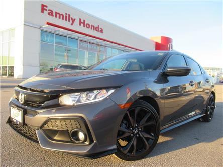 2018 Honda Civic Hatchback Sport CVT w-Honda Sensing | Moonroof/Sunroof!! | (Stk: 300542T) in Brampton - Image 1 of 27