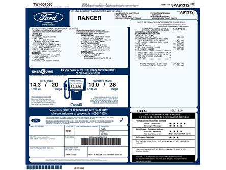 2008 Ford Ranger Sport (Stk: D96550CZJ) in Kitchener - Image 2 of 6