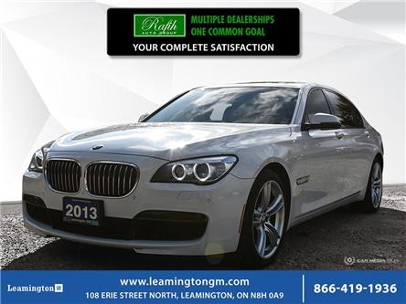2013 BMW 750 Li xDrive (Stk: U4334) in Leamington - Image 1 of 28