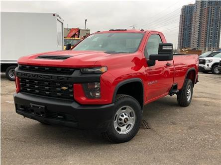 2020 Chevrolet Silverado 2500HD New 2020 Chev. Silverado 2500HD 4x4 Reg. Cab P-Up (Stk: PU20091) in Toronto - Image 1 of 19