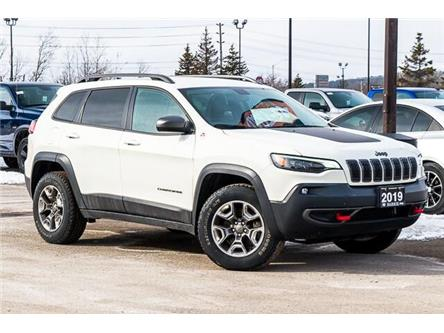 2019 Jeep Cherokee Trailhawk (Stk: 27183UR) in Barrie - Image 1 of 30