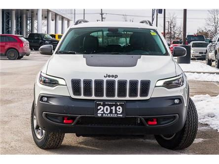 2019 Jeep Cherokee Trailhawk (Stk: 27183UR) in Barrie - Image 2 of 30