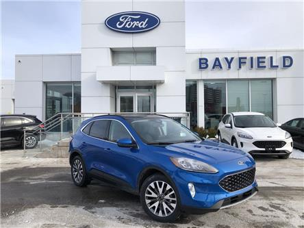 2020 Ford Escape Titanium Hybrid (Stk: ES20187) in Barrie - Image 1 of 19