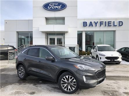 2020 Ford Escape Titanium Hybrid (Stk: ES20189) in Barrie - Image 1 of 18